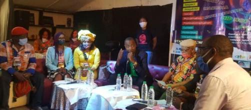Journée de présentation du MACICA le 16 mai 2020, à la Case des Arts à Yaoundé (c) Odile Pahai