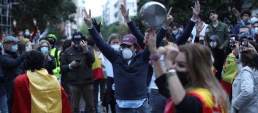 Las manifestaciones en Núñez de Balboa fueron muy concurridas.