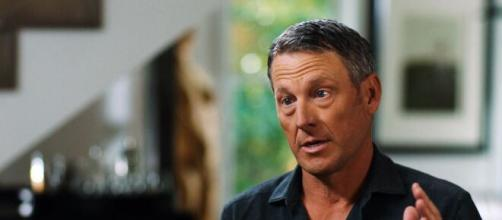 L'ex ciclista americano Lance Armstrong.