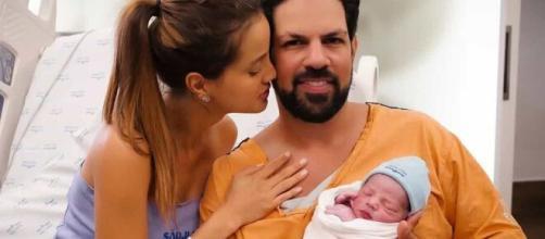 Nasce primeiro filho de Sorocaba e Biah Rodrigues. (Reprodução/Instagram/@sorocaba)