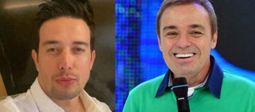 Thiago Salvático falou de Gugu em uma entrevista exclusiva a rede Globo. (Arquivo Blasting News)