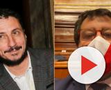 Luca Bizzarri e Matteo Salvini della Lega