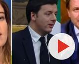 Maria Elena Boschi, Matteo Renzi e Giuseppe Conte.