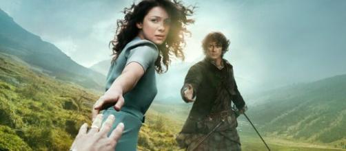 """A primeira temporada de """"Outlander"""" foi lançada em 2014. (Reprodução/Netflix)"""