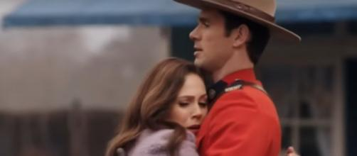 Elizabeth rushes, relieved, to embrace Nathan on 'When Calls the Heart' but does the response speak to her future? [Image Source: ET/YouTube]