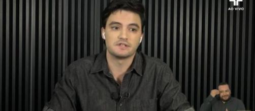 Felipe Neto admite erros no passado em participação no 'Roda Viva'. (Arquivo Blasting News)