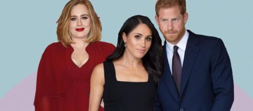 Ha nacido una amistad entre los príncipes de Sussex y Adele