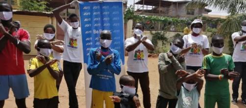La JCI en action dans un centre de Santé de Yaoundé (c) JCI Cameroun