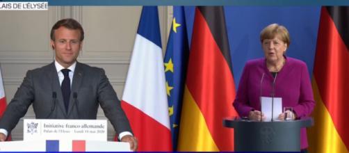 Le duo Macron-Merkel ensemble pour une relance européenne afin d'endiguer les conséquences négatives de l'après COVID 19
