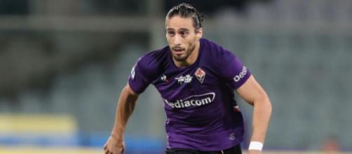 Martin Caceres, difensore della Fiorentina