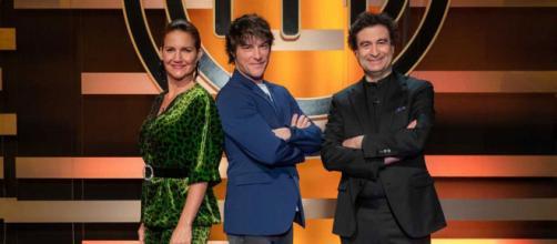 Samantha Vallejo-Nágera, Jordi Cruz y Pepe Rodríguez, jurado de Masterchef 8.