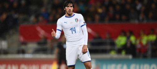 Sandro Tonali nel mirino dell'Inter.