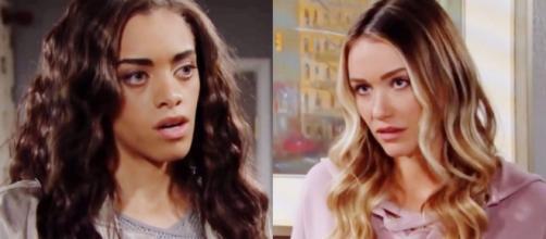 Beautiful, trame dal 3 al 9 maggio: Zoe impedisce a Flo di dire a Hope che sua figlia è viva.