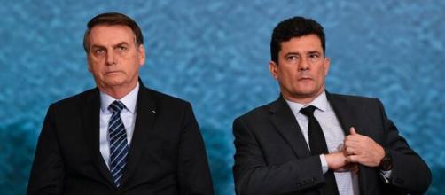 Em dia de depoimento de Moro, Bolsonaro chama ex-ministro de 'Judas'. (Arquivo Blasting News)