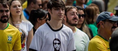 Filho do presidente Jair Bolsonaro, Jair Renan Bolsonaro. (Arquivo Blasting News)