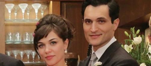 Trame Il Paradiso delle signore: Vittorio e Marta si sposano.