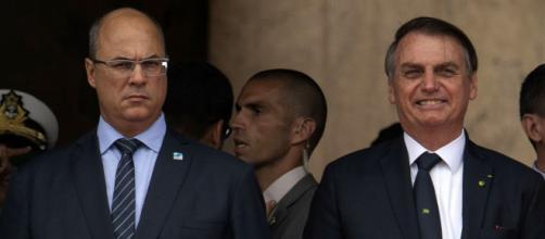 Wilson Witzel fala sobre Bolsonaro. (Arquivo Blasting News)