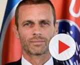 Alexsander Ceferin, presidente da UEFA. (Foto: Divulgação - https://www.maquinadoesporte.com.br)