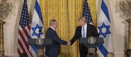 Donald Trump e Benjamin Netanyahu.