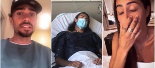Julien Guirado hospitalisé d'urgence après les accusations de violences conjugales envers Marine El Himer.