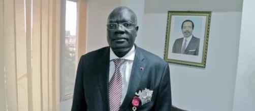 Le Ministre de la Jeunesse et de l'Education Civique du Cameroun, Mounouna Foutsou (c) Mounouna Foutsou