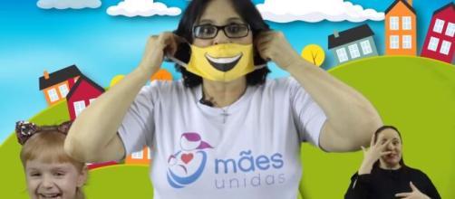 Ministério faz concurso de máscaras e prêmio é um dia com Damares. (Arquivo Blasting News)