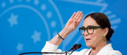 Regina Duarte ficou cerca de dois meses apenas na Secretaria de Cultura do governo de Jair Bolsonaro. (Arquivo Blasting News)