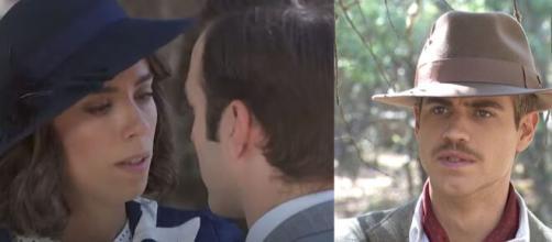 Spoiler Il Segreto: Marta bacia Ramon davanti ad Adolfo.