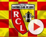 Download wallpapers RC Lens, 4k, logo, creative art, yellow-red ... - besthqwallpapers.com