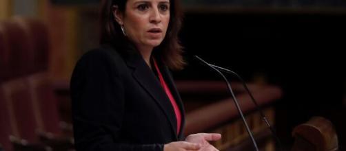 Adriana Lastra se equivocó durante la votación por la moratoria del Estado de Alarma