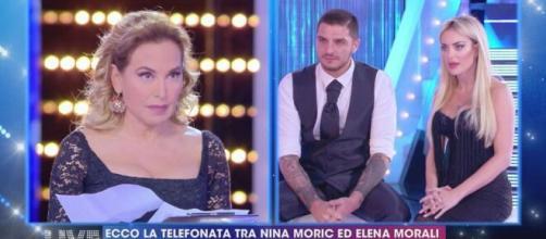 Elena Morali annuncia la rottura con Favoloso su IG: 'Lui è una persona meravigliosa'.