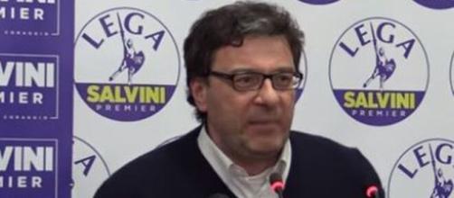 Giancarlo Giorgetti deputato della Lega.
