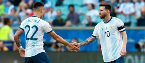 Lautaro Martínez podría reencontrarse con su compañero de selección, Lionel Messi. - culemania.com