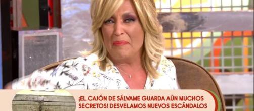 Lydia Lozano estalla contra Antonio Montero en 'Sálvame' (Telecinco)