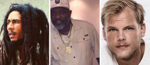 Algumas das celebridades que faleceram sem deixar testamento. (fotomontagem)
