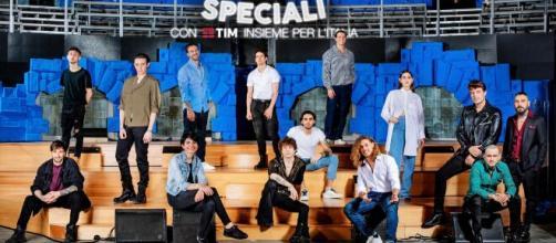 Amici Speciali, il cast del talent.
