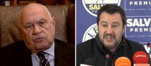 Carlo Nordio e Matteo Salvini.