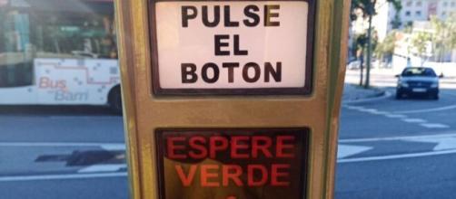 El semáforo barcelonés de la discordia