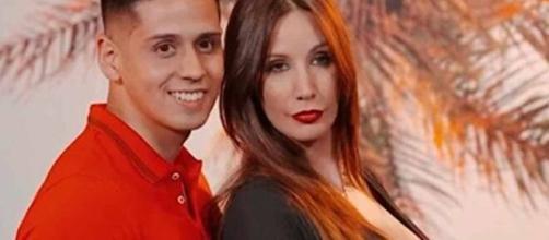Fani y Christopher, protagonistas de la primera edición de 'La isla de las tentaciones' (Mediaset)