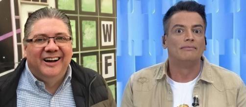 Leo Dias e Leon Abravanel já se desentenderam outras vezes. (Reprodução/Twitter/@labravanel/SBT)