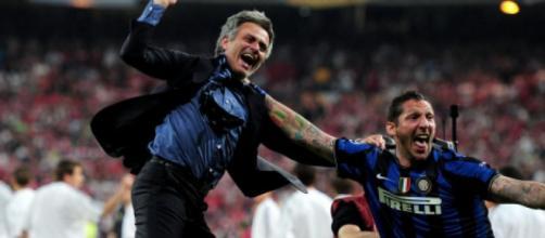 José Mourinho e Marco Materazzi.