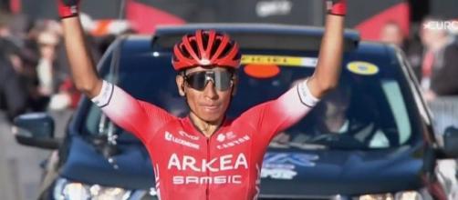 Nairo Quintana è passato alla Arkea Samsic dopo una lunga avventura alla Movistar.