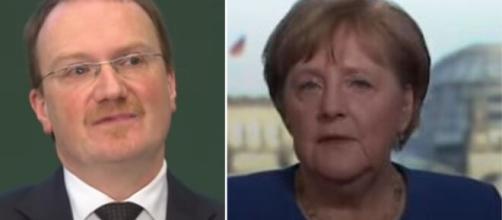 Lars Feld, consigliere di Angela Merkel (Ph. YouTube).