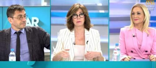 Monedero (Podemos) y Cifuentes (PP) volvieron a protagonizar un duro encuentro