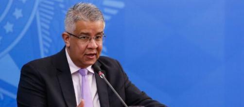 Wanderson de Oliveira, futuro ex-secretário do Ministério da Saúde. (Anderson Riedel/PR)