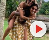 Ludmilla e esposa Brunna Gonçalves. (Arquivo Blasting News)