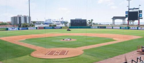 Airbnb baseball stadium opens for guests in Pensacola (Image via CBSSports/Youtube)