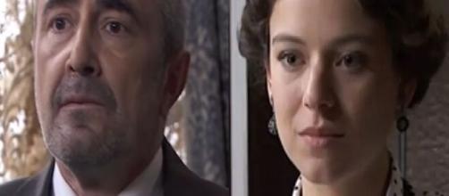 Una Vita, trame Spagna: Genoveva rapisce Milagros, la figlia di Ramon.