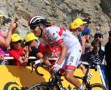 Fabio Aru impegnato allo scorso Tour de France