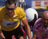 Lance Armstrong e Marco Pantani.